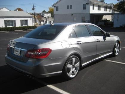 2011 MERCEDES BENZ E350 BASE - GRAY ON BLACK 3