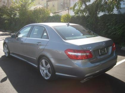 2011 MERCEDES BENZ E350 BASE - GRAY ON BLACK 4