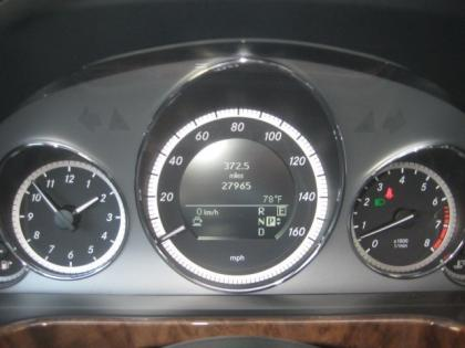 2011 MERCEDES BENZ E350 BASE - GRAY ON BLACK 5