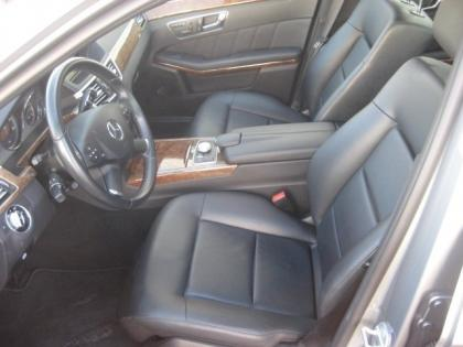 2011 MERCEDES BENZ E350 BASE - GRAY ON BLACK 8