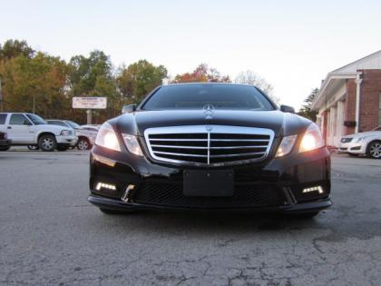 2011 MERCEDES BENZ E350 4MATIC - BLACK ON ORANGE 2