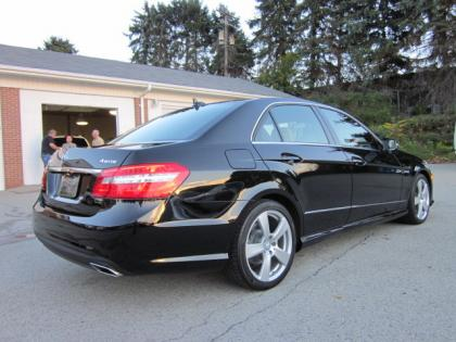 2011 MERCEDES BENZ E350 4MATIC - BLACK ON ORANGE 3
