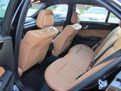 2011 MERCEDES BENZ E350 4MATIC - BLACK ON ORANGE 5