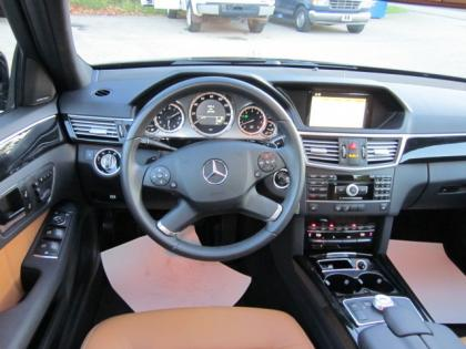 2011 MERCEDES BENZ E350 4MATIC - BLACK ON ORANGE 7