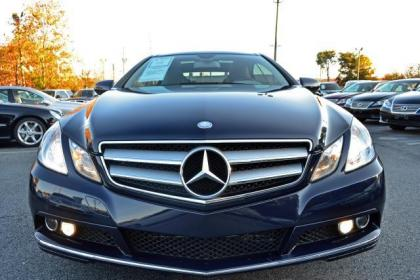 Export Used 2010 Mercedes Benz E350 Coupe Blue On Gray
