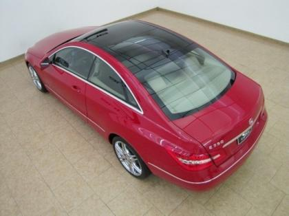 2011 MERCEDES BENZ E350 COUPE - RED ON BEIGE 3