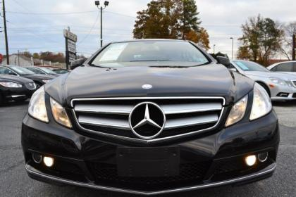 Export Used 2010 MERCEDES BENZ E350 COUPE BLACK ON BEIGE