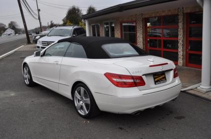 2017 Mercedes Benz E350 Convertible White On Beige 3