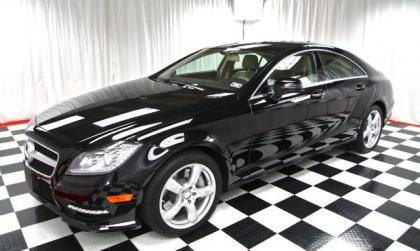2013 MERCEDES BENZ CLS550 4MATIC - BLACK ON BEIGE