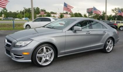 2014 MERCEDES BENZ CLS550 BASE - GRAY ON GRAY