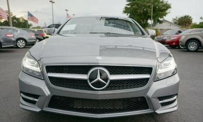 2014 MERCEDES BENZ CLS550 BASE - GRAY ON GRAY 2
