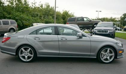 2014 MERCEDES BENZ CLS550 BASE - GRAY ON GRAY 3