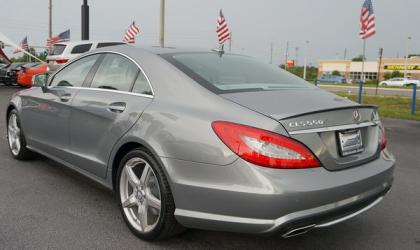 2014 MERCEDES BENZ CLS550 BASE - GRAY ON GRAY 4