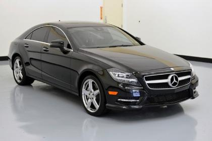 2013 MERCEDES BENZ CLS550 BASE - BLACK ON BLACK 2