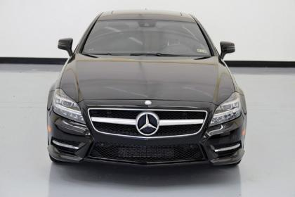 2013 MERCEDES BENZ CLS550 BASE - BLACK ON BLACK 3