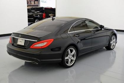 2013 MERCEDES BENZ CLS550 BASE - BLACK ON BLACK 4