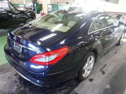 2014 MERCEDES BENZ CLS550 4MATIC - BLUE ON BEIGE 2