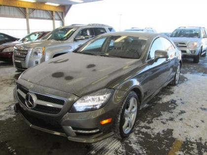 2013 MERCEDES BENZ CLS550 4MATIC - GRAY ON CREAM 1