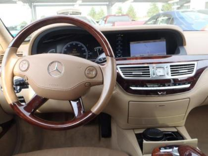 Export used 2008 mercedes benz s600 base white on beige for 2008 mercedes benz s600
