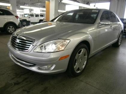 Export used 2007 mercedes benz s600 base silver on black for 2008 mercedes benz s600 for sale