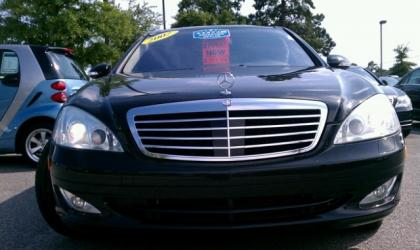 2007 MERCEDES BENZ S600 BASE - BLACK ON BLACK
