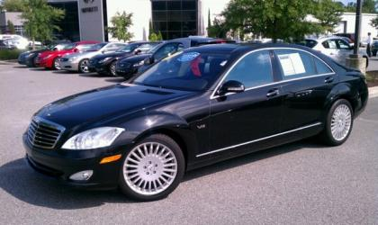 2007 MERCEDES BENZ S600 BASE - BLACK ON BLACK 2
