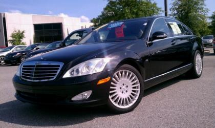 2007 MERCEDES BENZ S600 BASE - BLACK ON BLACK 3
