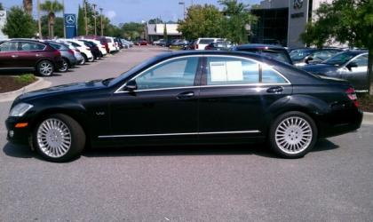 2007 MERCEDES BENZ S600 BASE - BLACK ON BLACK 4