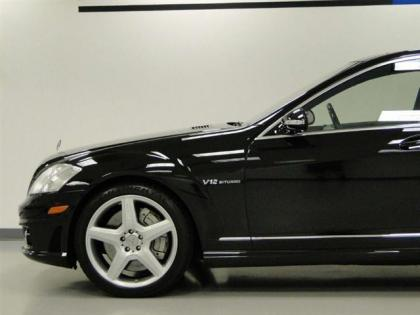 2007 MERCEDES BENZ S65 V12 BITURBO - BLACK ON BLACK 2