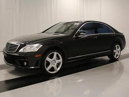 2008 MERCEDES BENZ S65 AMG - BLACK ON BEIGE