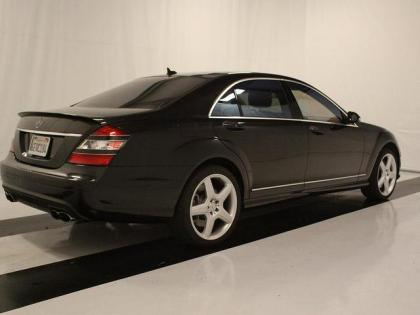 export used 2008 mercedes benz s65 amg black on beige. Black Bedroom Furniture Sets. Home Design Ideas