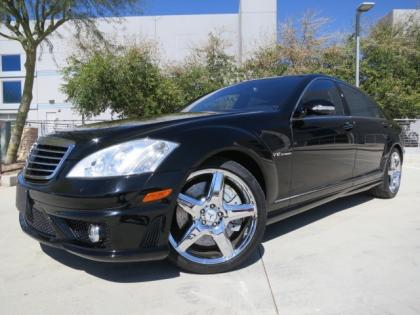 2008 MERCEDES BENZ S65 AMG - BLACK ON BLACK