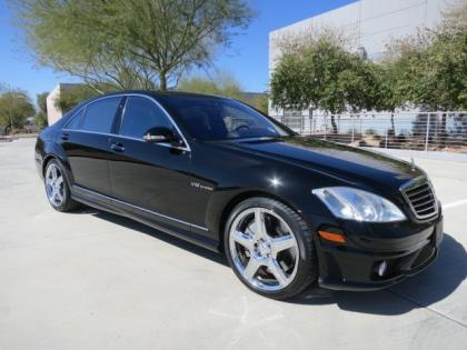 export used 2008 mercedes benz s65 amg black on black. Black Bedroom Furniture Sets. Home Design Ideas