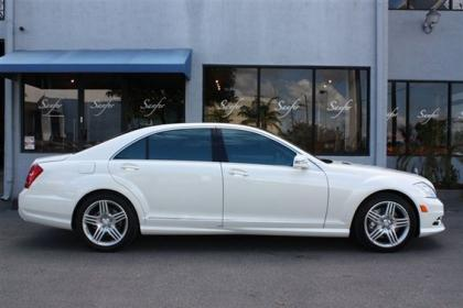 2013 MERCEDES BENZ S550 BASE - WHITE ON BLACK 3