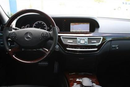 2013 MERCEDES BENZ S550 BASE - WHITE ON BLACK 4
