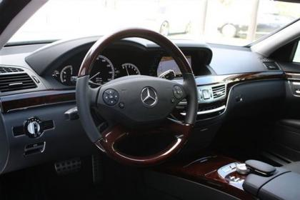 2013 MERCEDES BENZ S550 BASE - WHITE ON BLACK 5