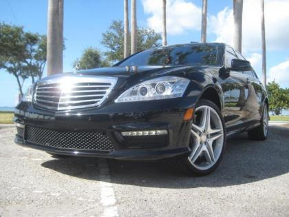 2012 MERCEDES BENZ S63 AMG - BLACK ON BLACK