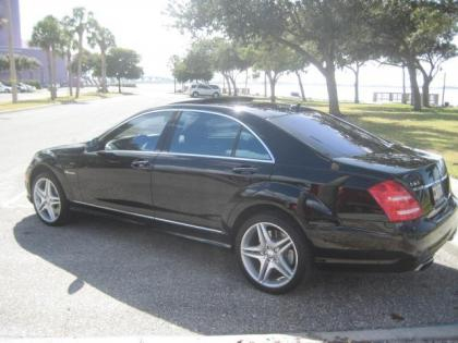 export used 2012 mercedes benz s63 amg - black on black