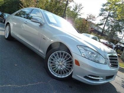 2010 MERCEDES BENZ S600 BASE - SILVER ON BLACK