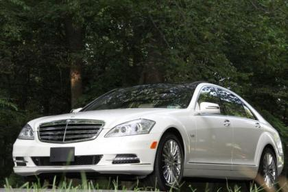 2011 MERCEDES BENZ S600 BASE - WHITE ON WHITE 1