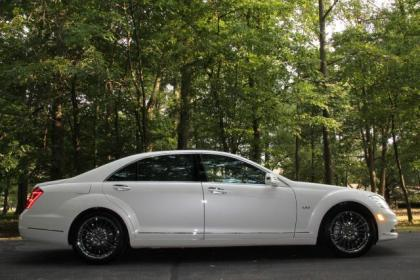 2011 MERCEDES BENZ S600 BASE - WHITE ON WHITE 2