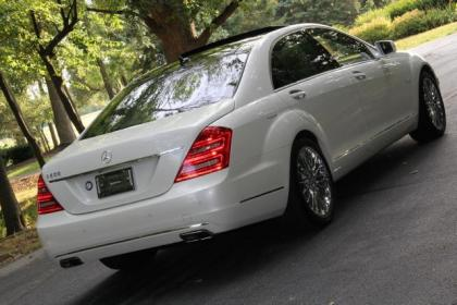 2011 MERCEDES BENZ S600 BASE - WHITE ON WHITE 3