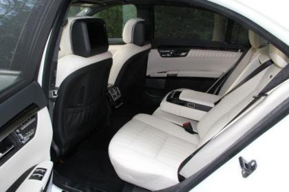 2011 MERCEDES BENZ S600 BASE - WHITE ON WHITE 7