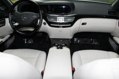 2011 MERCEDES BENZ S600 BASE - WHITE ON WHITE 8