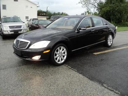 2007 MERCEDES BENZ S550 4MATIC - BLACK ON BEIGE