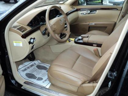 Export Used 2007 MERCEDES BENZ S550 4MATIC - BLACK ON BEIGE