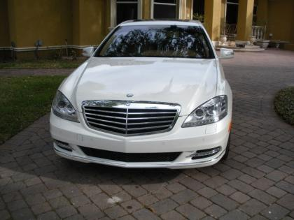 2012 MERCEDES BENZ S350 BLUETECH - WHITE ON BEIGE