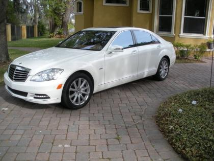 2012 MERCEDES BENZ S350 BLUETECH - WHITE ON BEIGE 2