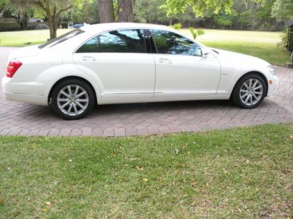 2012 MERCEDES BENZ S350 BLUETECH - WHITE ON BEIGE 3