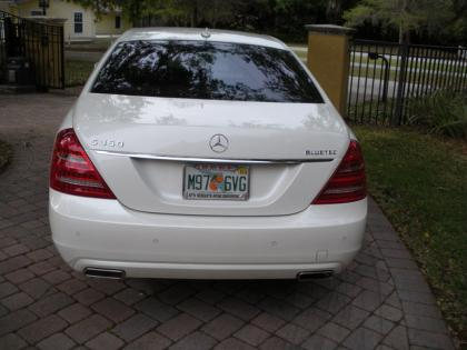 2012 MERCEDES BENZ S350 BLUETECH - WHITE ON BEIGE 4